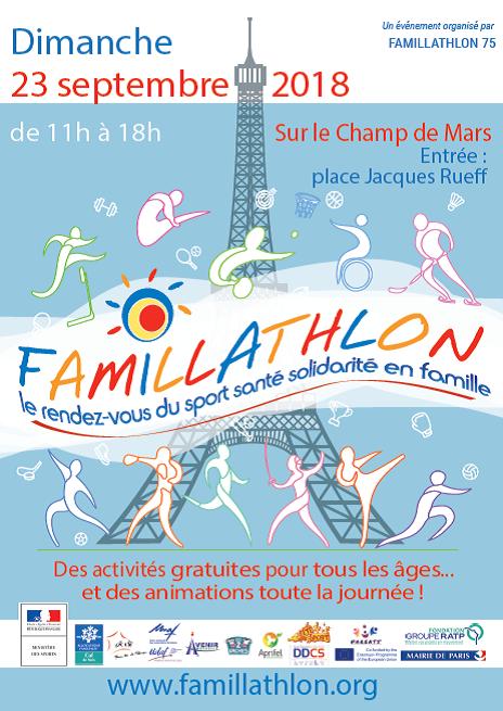 Affiche Famillathlon 2018