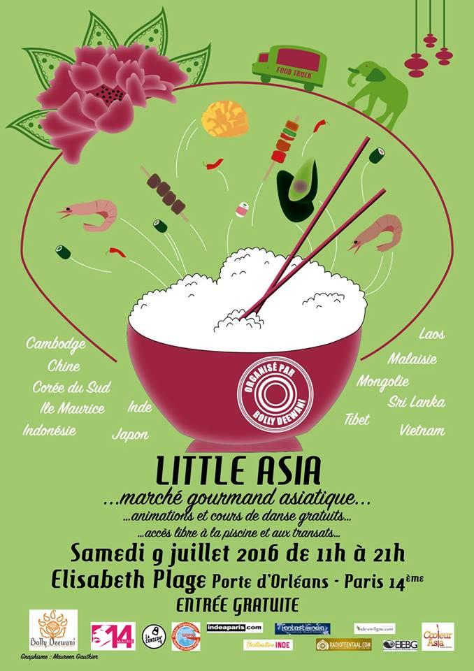 Affiche Festival Little Asia
