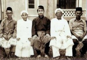 Penchak Silat - Anciens maîtres du Pencak Silat Seni Gayung Fatani Malaysia