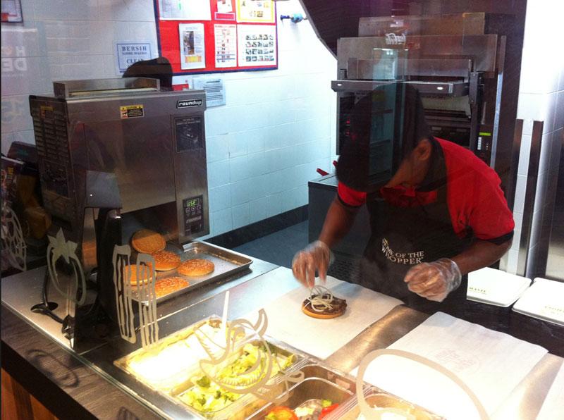 Carnet de Stage Silat Fatani 2013 - Burger King