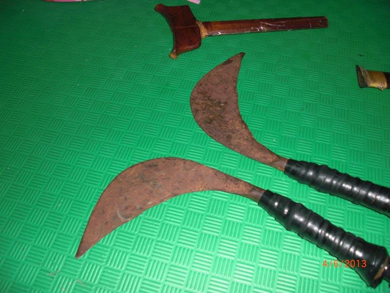 Carnet de Stage Silat Fatani 2013 - Sabit, arme traditionnelle alaise pour le Silat