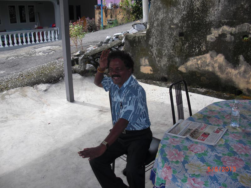 Carnet de Stage Silat Fatani 2013 - Cikgu Raju