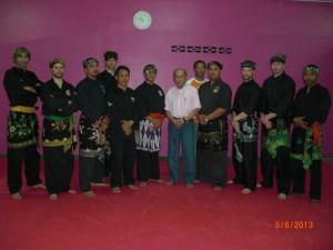 Carnet de stage Silat Fatani 2013 - Passage de grade de Penchak Silat en Malaisie terminés et réussis