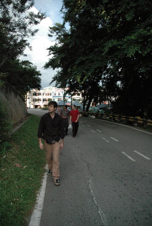 chemin vers le phare malawati