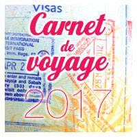 Carnet de Voyage - 2017