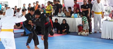 Compétition et Pencak Silat Olahraga