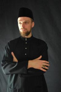 Culture Silat - Baju Melayu noir