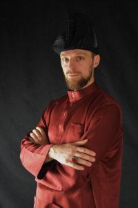 Culture Silat - Baju Melayu rouge