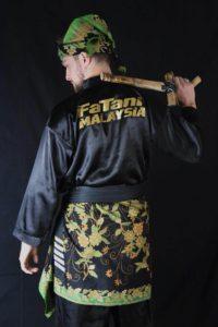 Culture Silat - Baju Silat licin de dos