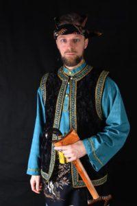 Culture Silat - Baju de démonstration