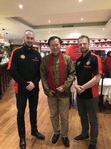 Culture Silat - Cikgu Audy et Cikgu Jérôme avec Mr. Yap