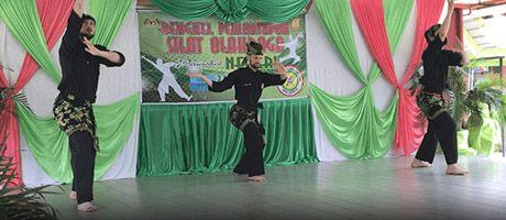 Culture Silat - Démo à SMK Taman Maluri - 2018