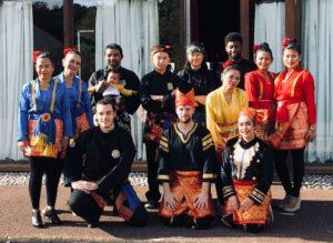 Culture Silat - Démo Silat Festival Langues et Culture - Avon 2018 (1)