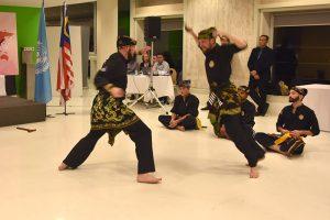 Culture Silat - Démo Silat Gayung Fatani - UNESCO 2017 (13)