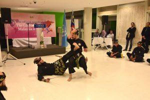 Culture Silat - Démo Silat Gayung Fatani - UNESCO 2017 (14)