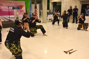 Culture Silat - Démo Silat Gayung Fatani - UNESCO 2017 (16)