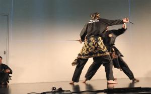 Culture Silat - Démo Silat Seni Gayung Fatani - Inalculturelle 2017 (17)