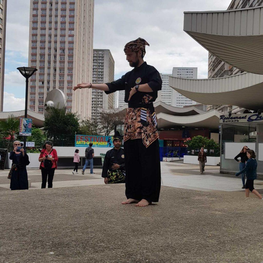 Culture Silat - Démo Silat Seni Gayung Fatani Malaysia - Festival Arts Olympiades 2019 (19)
