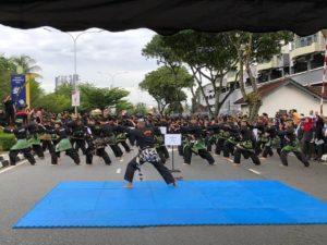 Culture Silat - Démo de Silat Fatani - Himpunan KCH 2018 (1)