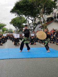 Culture Silat - Démo de Silat Fatani - Himpunan KCH 2018 (18)