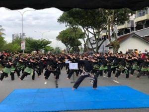 Culture Silat - Démo de Silat Fatani - Himpunan KCH 2018 (2)