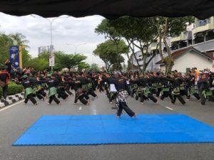 Culture Silat - Démo de Silat Fatani - Himpunan KCH 2018 (3)