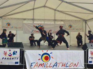 Culture Silat - Démo de Silat Gayung Fatani au Famillathlon Paris - 2018 (8)