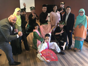 Culture Silat - Démo pour la Délégation de la Malaisie à l'UNESCO - 2018 (2)