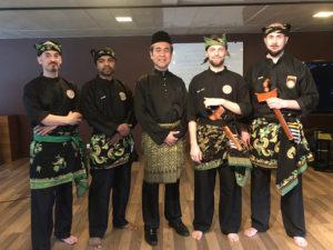 Culture Silat - Démo pour la Délégation de la Malaisie à l'UNESCO - 2018 (9)
