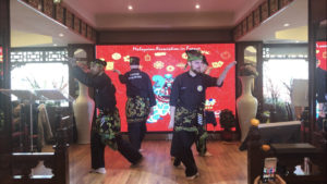 Culture Silat - Démonstration Silat Gayung Fatani au Nouvel An Chinois 2018 (2)