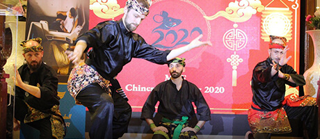 Culture Silat - Démonstration Silat - Nouvel An Chinois 2020