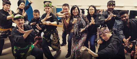 Culture Silat - Démonstration au Forum des Communautés 2018