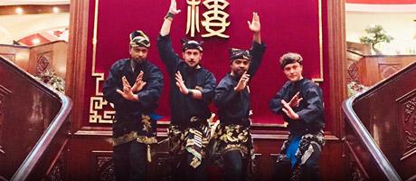 Culture Silat - Démonstration de Pencak Silat Seni Gayung Fatani Malaysia au Président - 2019