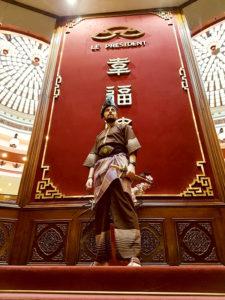 Culture Silat - Démonstration de Pencak Silat Seni Gayung Fatani - Nouvel An Chinois 2019 (3)