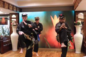 Culture Silat - Démonstration de Pencak Silat Seni Gayung Fatani - Nouvel An Chinois 2019 (8)