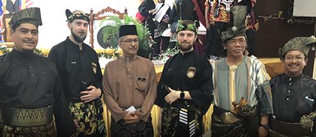 Culture Silat - Démonstration de Silat Fatani à Melaka - 2019