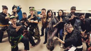 Culture Silat - Démonstration de Silat Gayung Fatani - Forum des Communautés 2018 (1)