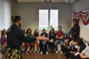 Culture Silat - Démonstration de Silat Gayung Fatani - Inalculturelle 2018 (1)
