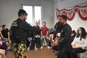 Culture Silat - Démonstration de Silat Gayung Fatani - Inalculturelle 2018 (2)