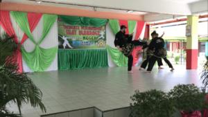 Culture Silat - Démonstration de Silat - SMK Taman Maluri - Malaisie 2018 (10)