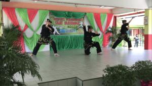 Culture Silat - Démonstration de Silat - SMK Taman Maluri - Malaisie 2018 (6)