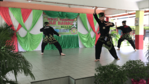 Culture Silat - Démonstration de Silat - SMK Taman Maluri - Malaisie 2018 (7)