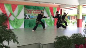Culture Silat - Démonstration de Silat - SMK Taman Maluri - Malaisie 2018 (8)