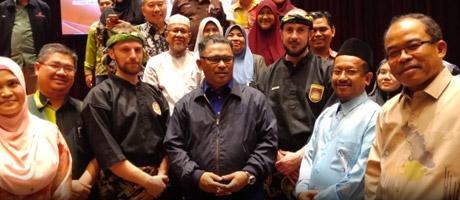 Culture Silat - Démonstration de Silat Seni Gayung Fatani à Melaka - CREaTE 2018