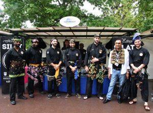 Culture Silat - Démonstration de Silat Seni Gayung Fatani - La Malaisie en Fête 2017 (42)