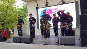 Culture Silat - Démonstration de Silat Seni Gayung Fatani - La Malaisie en Fête 2017 (60)