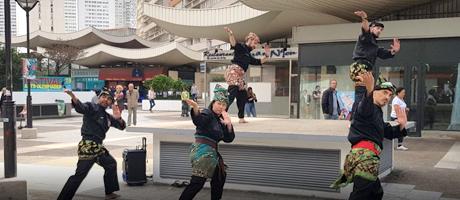 Culture Silat - Démonstration de Silat au Festival Arts Olympiades