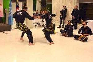 Culture Silat - Démo Silat Gayung Fatani - UNESCO 2017 (12)