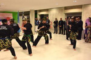 Culture Silat - Démo Silat Gayung Fatani - UNESCO 2017 (4)