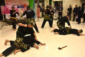 Culture Silat - Démo Silat Gayung Fatani - UNESCO 2017 (6)